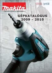 Makita gépkatalógus 2009-2010 - 1000 Aprócikk Barkácsbolt