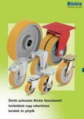 Öntött poliuretán Blickle Extrahane futófelületű nagy teherbírású kerekek - 1000 Aprócikk Barkácsbolt