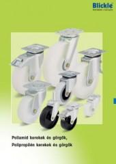 Poliamid és polipropilén kerekek és görgők - 1000 Aprócikk Barkácsbolt