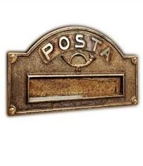 GLI OTTONI Antichità postaláda-panelek - 1000 Aprócikk Barkácsbolt