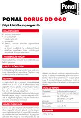 DORUS DD 060 - Gépi köldökcsap ragasztó - 1000 Aprócikk Barkácsbolt