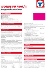 DORUS FU 406/1 porgyanta - 1000 Aprócikk Barkácsbolt