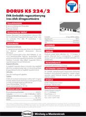 DORUS KS 224/2 ragasztóanyag íves élek ragasztására - 1000 Aprócikk Barkácsbolt