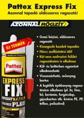 Pattex Express Fix - azonnal tapadó oldószeres ragasztó - 1000 Aprócikk Barkácsbolt